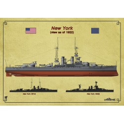 Ship's profile Series. USS...